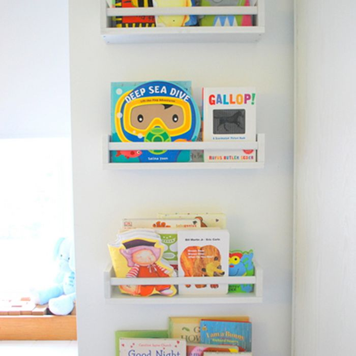 DIY Library Wall
