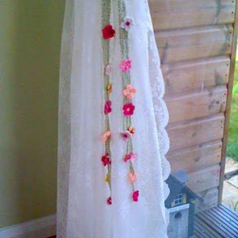 Garden Tie-Backs Free Crochet Pattern