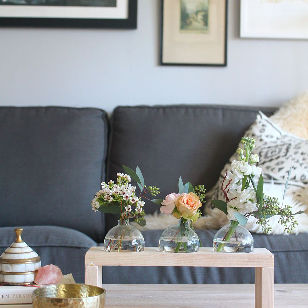 DIY Modern Bud Vases And Stands