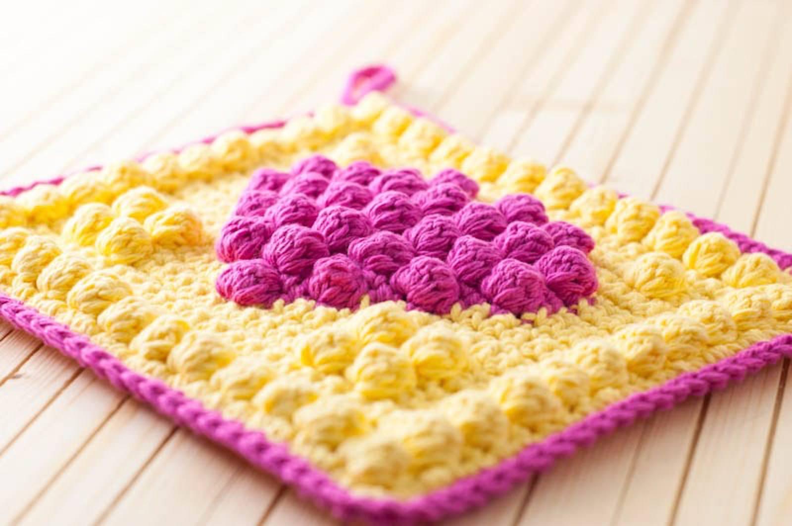 Free Crochet Potholder Patterns Unique Inspiration Design