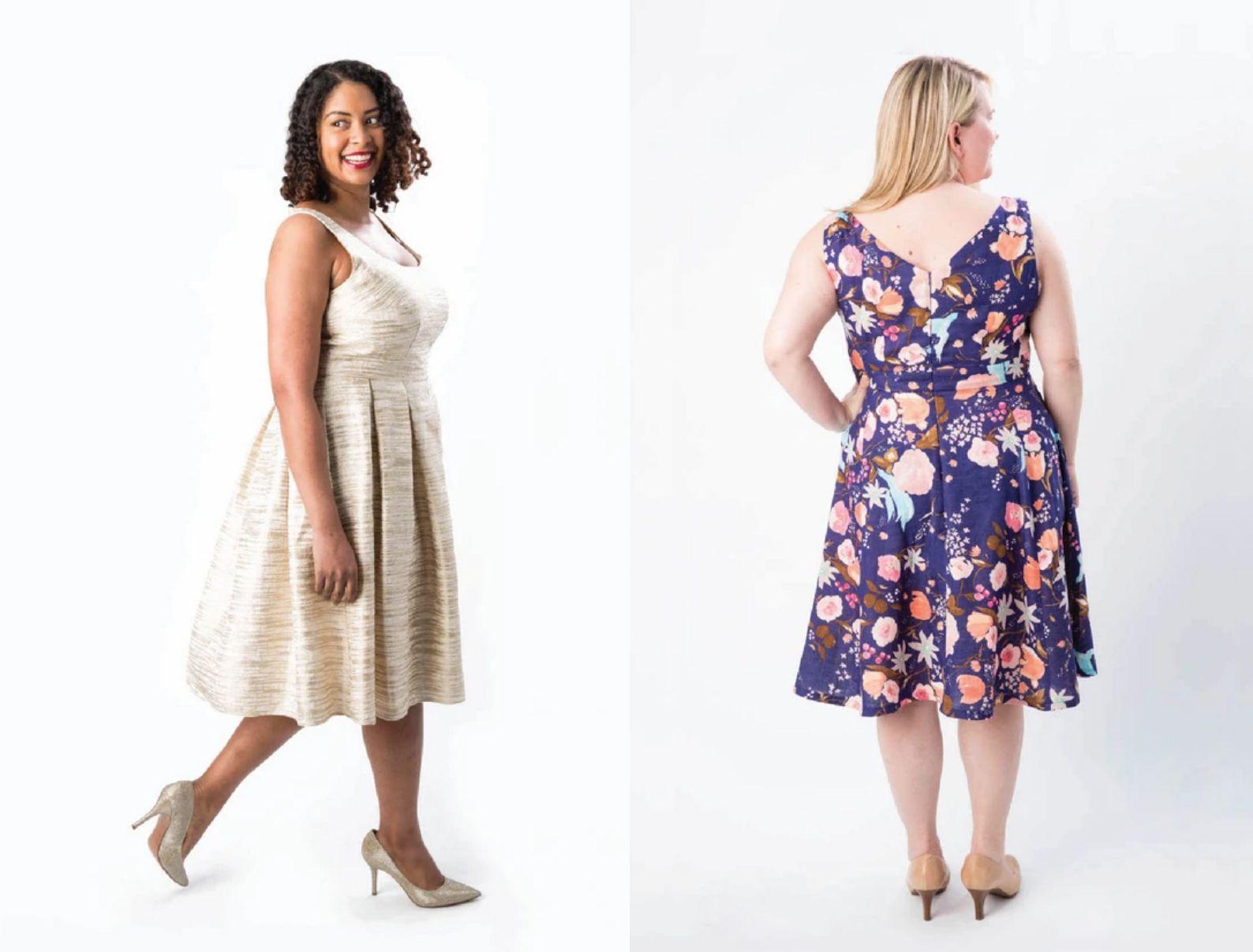 Upton Dress Sewing Pattern