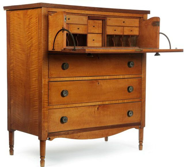 Butler's Desk - Identifying Antique Writing Desks And Storage Pieces