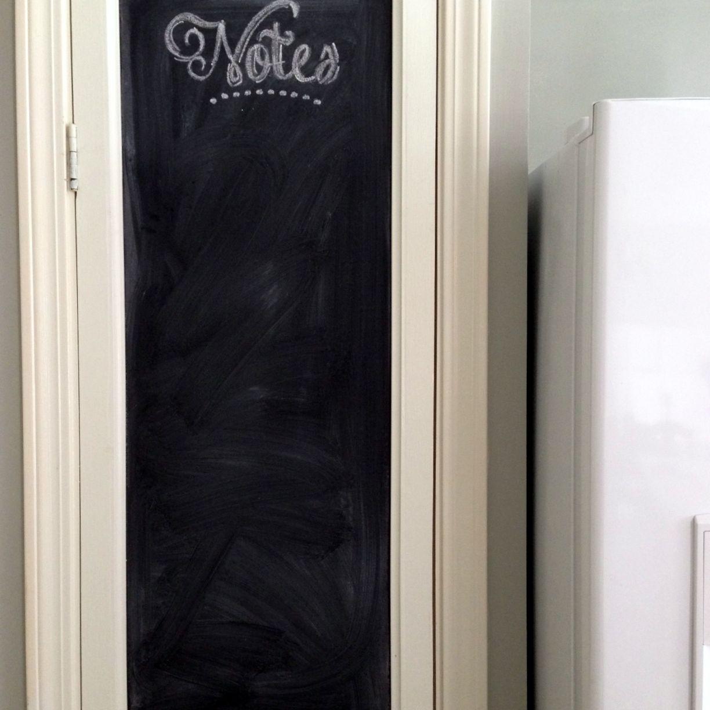 pantry door memo board