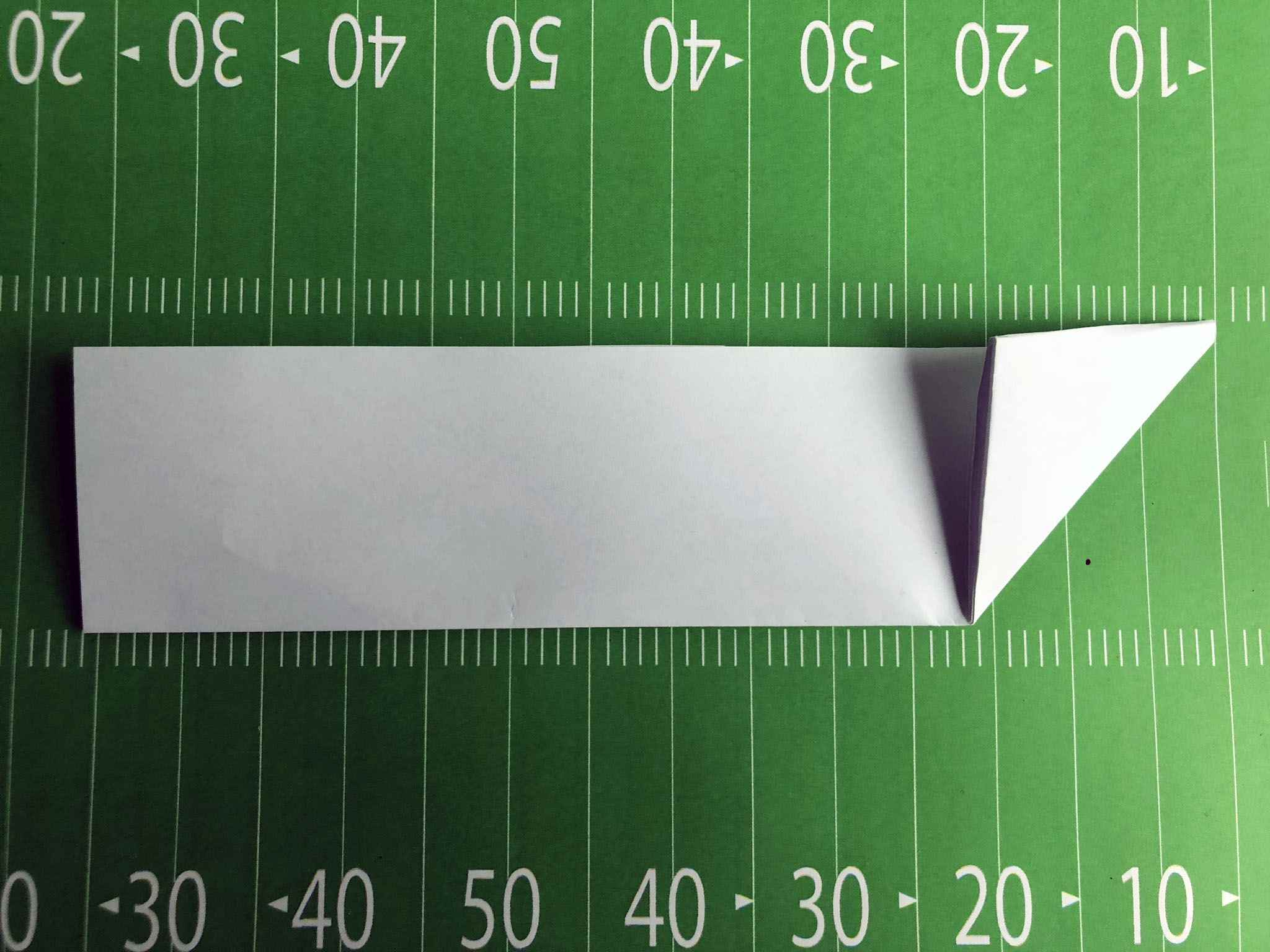 paper football fold 3