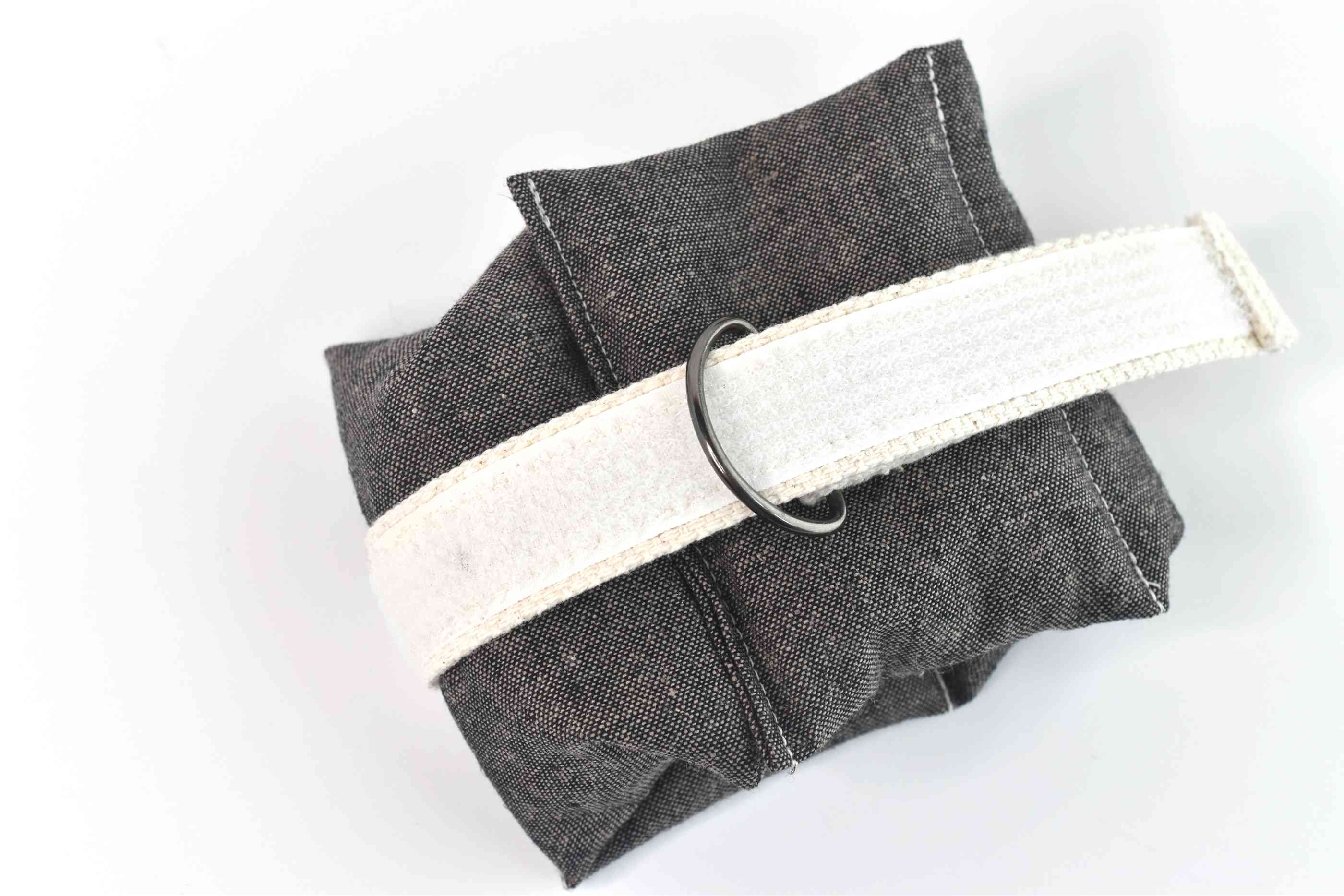 Securing the DIY Wrist and Ankle Weights