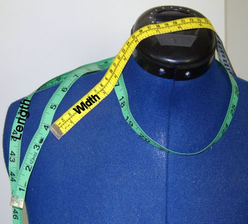 measuring tape on a mannequin