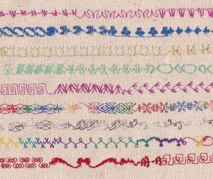 Sewing Machine Stitches - Decorative Stitching