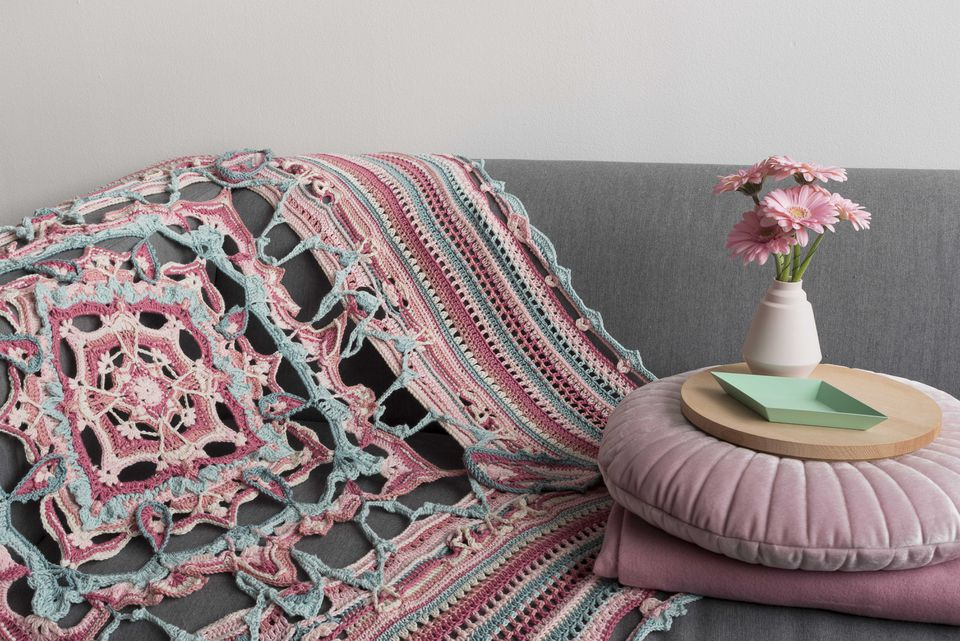 Advanced Crochet Blanket Free Pattern