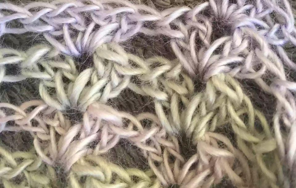 V-Stitch Crochet Shell Tutorial