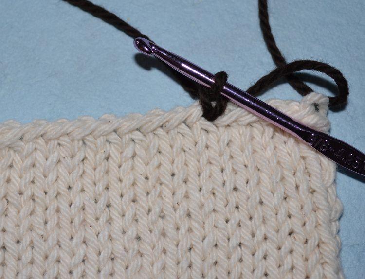 Finished Single Crochet Stitch