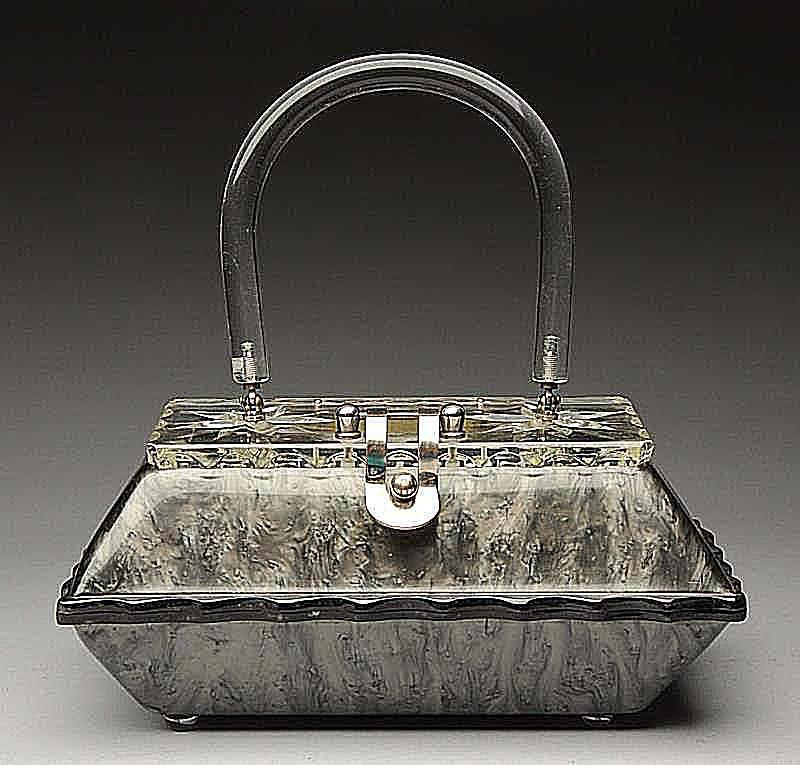 Llewellyn Lucite Handbag, 1950s