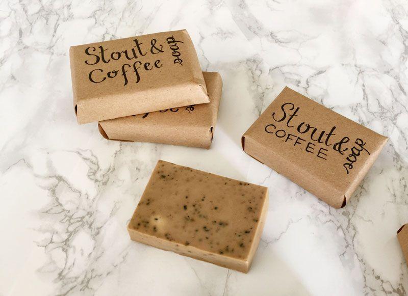 DIY Stout Coffee Soap