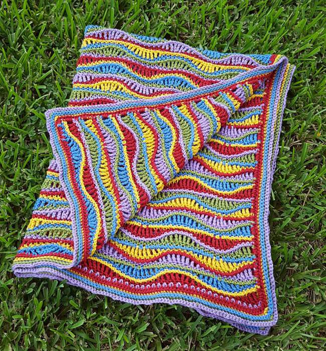 10 Crochet Ripple Afghan Patterns