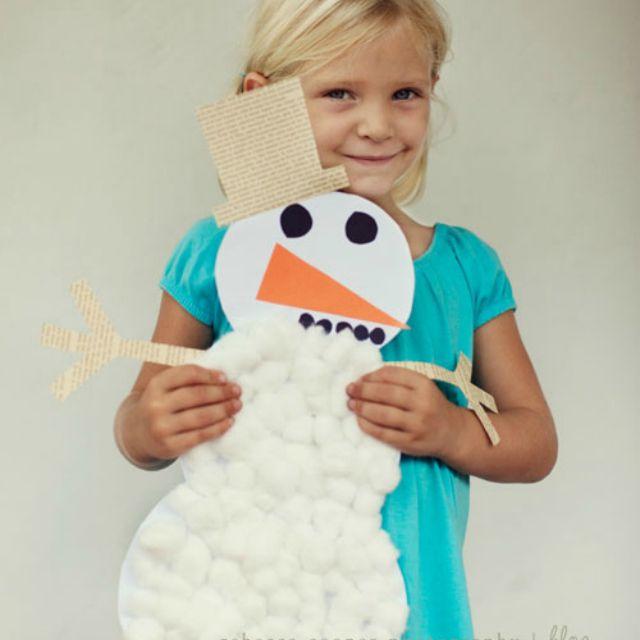 Snowy Snowman Craft