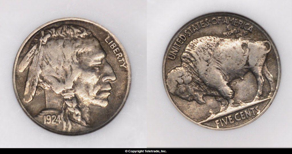 Buffalo Nickel graded Extra Fine (XF40/EF40)