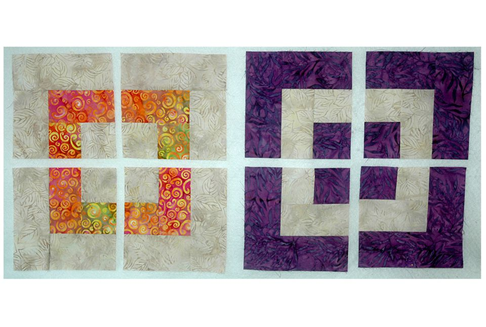 Make a Disappearing Bento Box Quilt