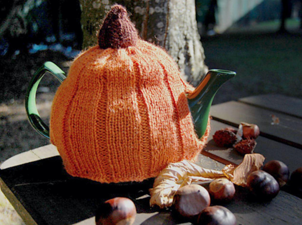 Pumpkin Tea Cozy Pattern