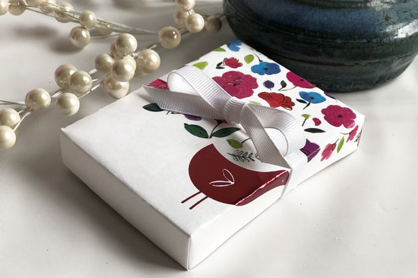 box from a card