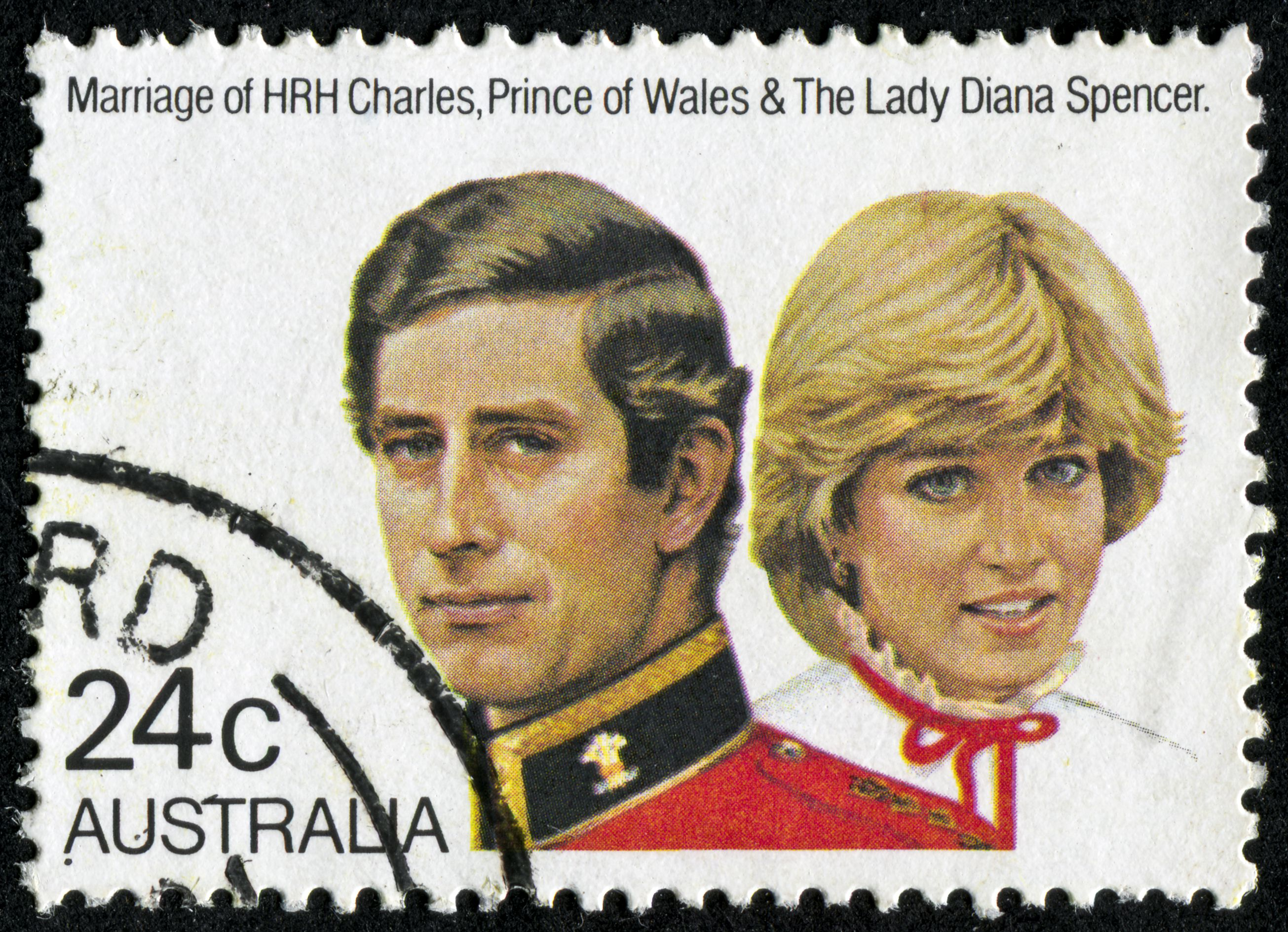 Charles And Diana Stamp