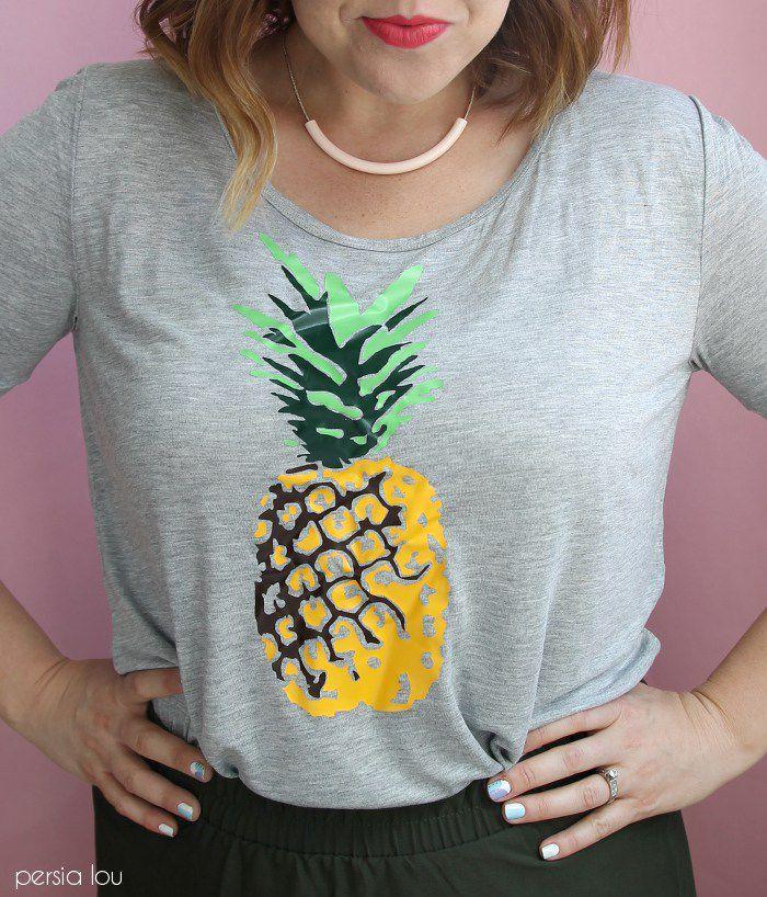 DIY Pineapple Tee