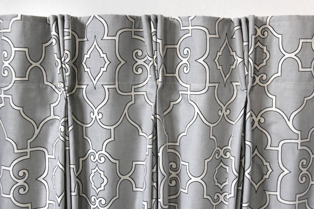 How to Make Pinch Pleat Curtains