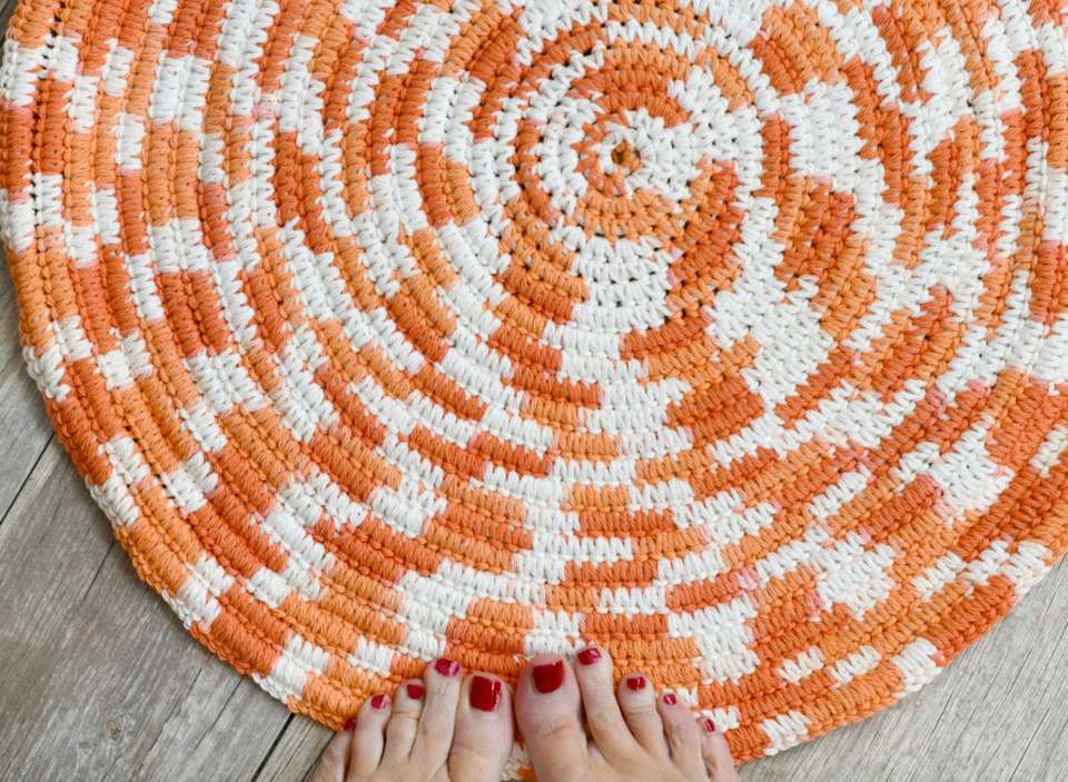10 Bath Mat Crochet Patterns