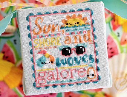 Waves Galore Cross Stitch Pattern