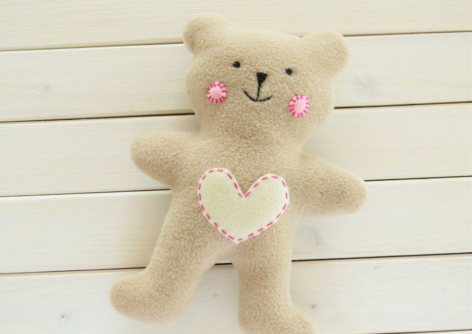 Loveable Baby Teddy Bear Pattern