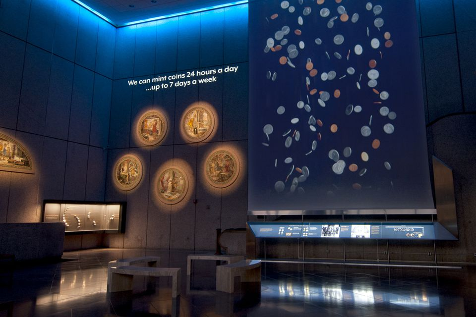The United States Mint at Philadelphia Visitor Center