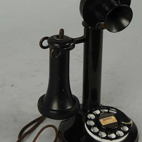 Western Electric 51AL Dial Desk Stand Telephone, Ca. 1925, Sold for $150 at - Identifying Desk Telephones Including Candlesticks