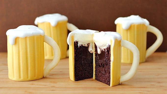 Cake beer steins