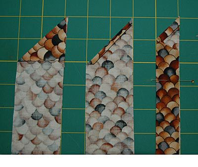 How to Finish the Ends of Mitered Quilt Binding