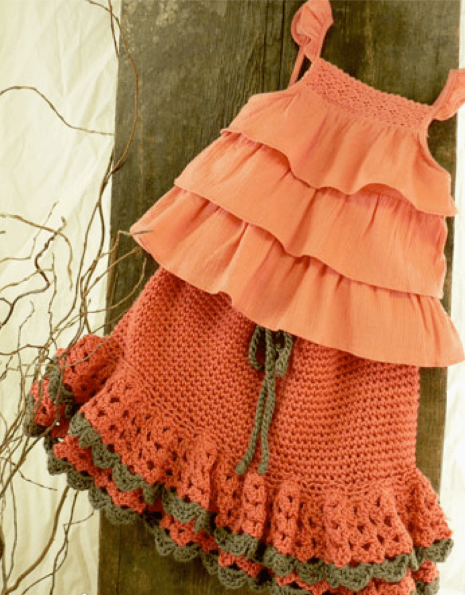 15 Fun, Flirty, Fabulous Free Crochet Skirt Patterns
