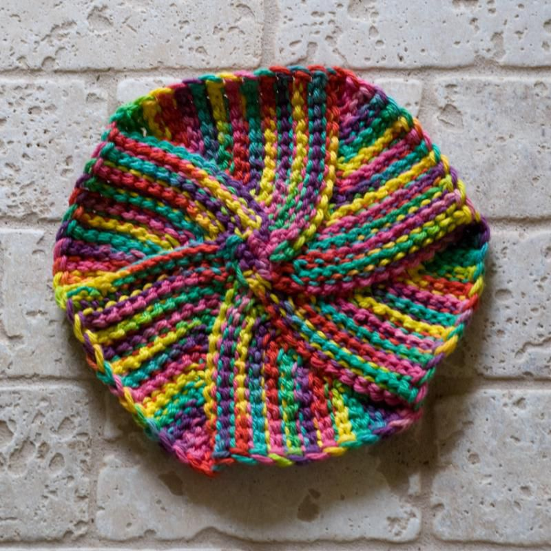 Tunisian Round Crochet