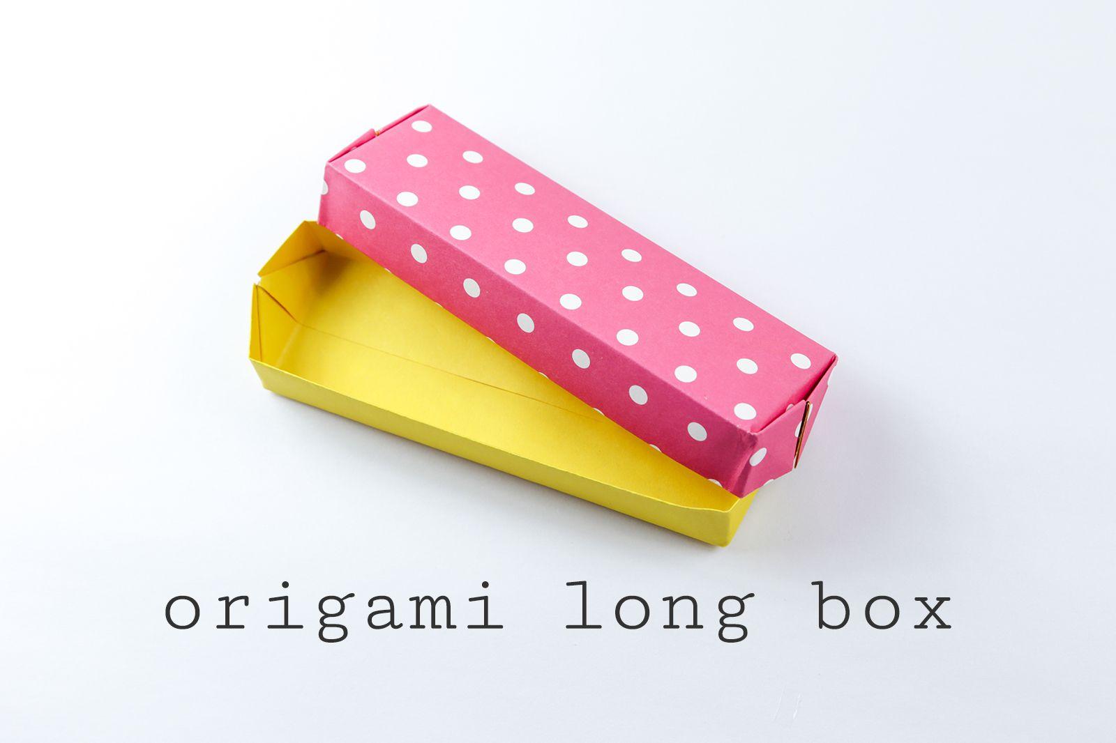 Easy Origami Long Box Tutorial - photo#34
