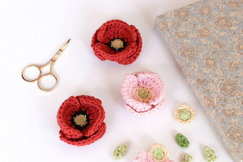 Free Crochet Poppy Pattern