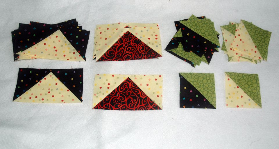 How To Make Square Arrow Crown Quilt Blocks