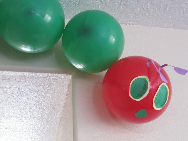 caterpillar balloons