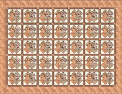 Card Trick Quilt Pattern