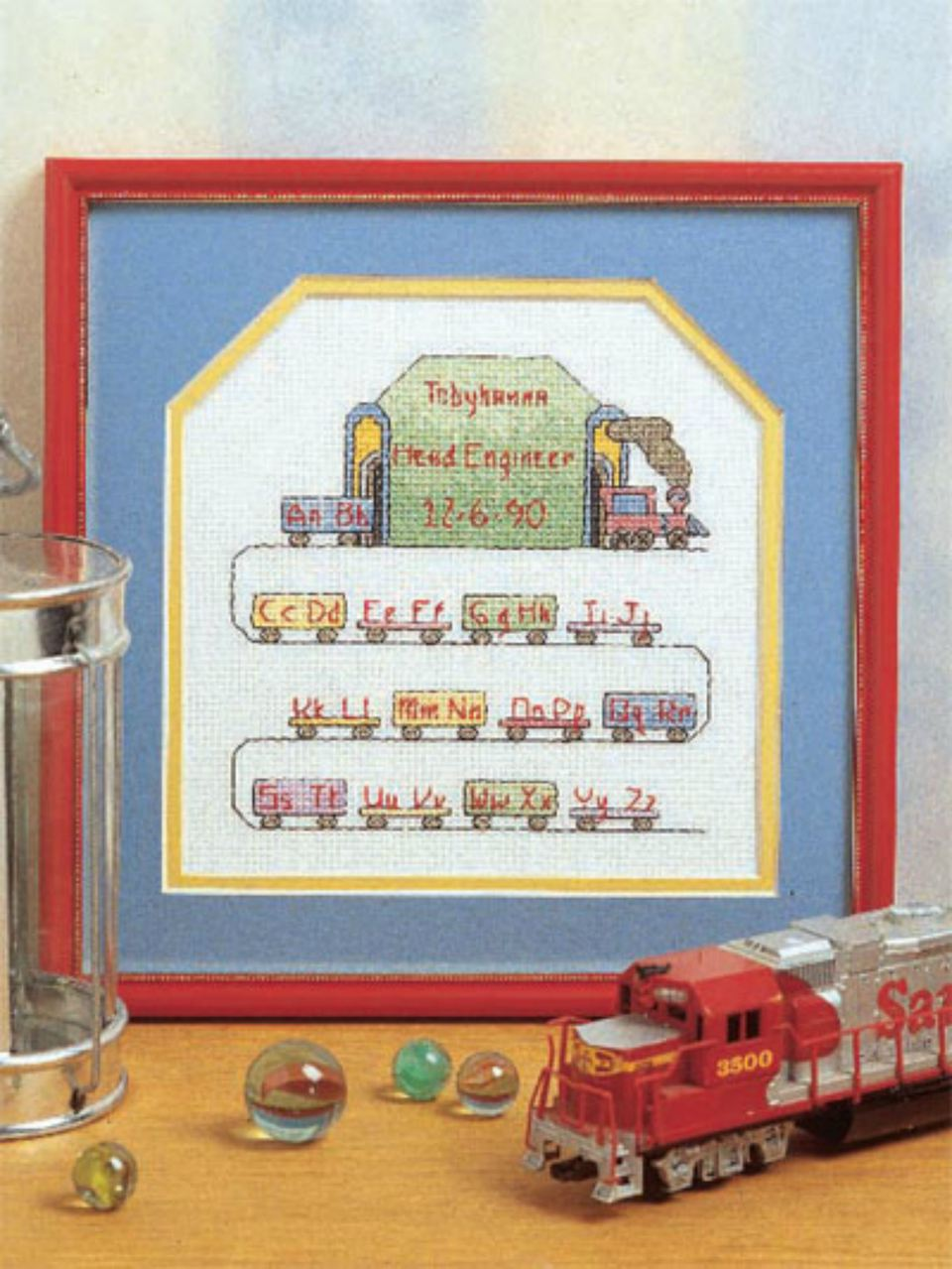 Cross Stitch For Babies Room