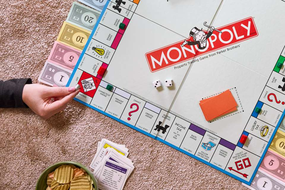going to jail in monopoly