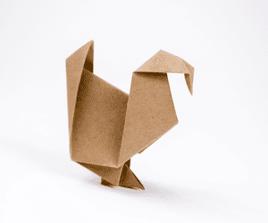 How To Make An Origami Turkey