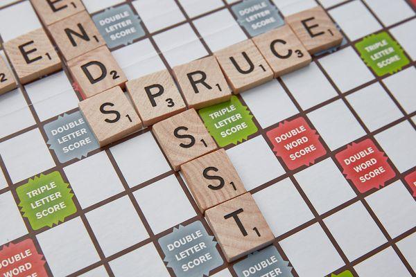 Scrabble tiles with no vowels
