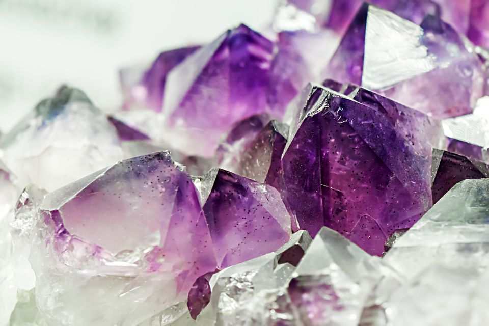 Amethyst, February's birthstone