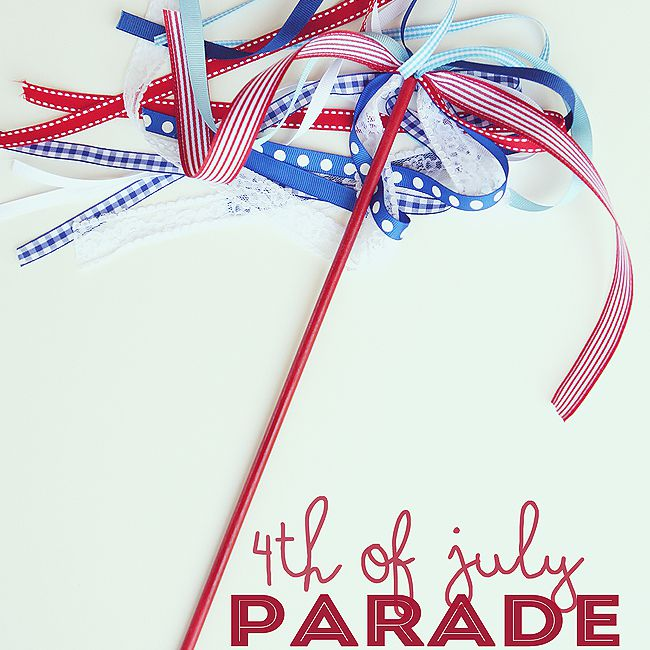 Fourth of July Parade Wands