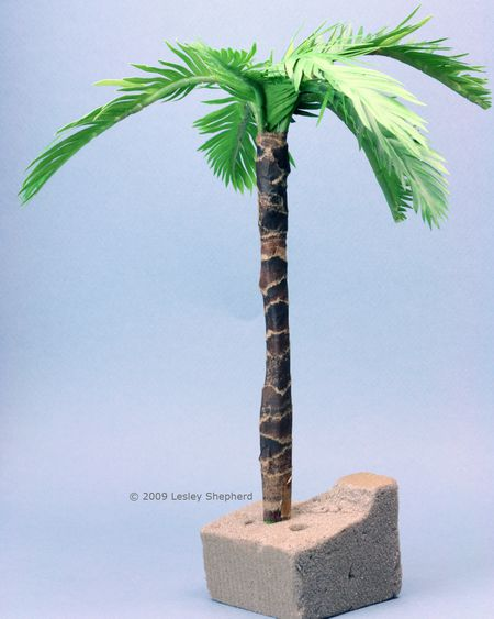 Make Tiny Realistic Palms From Paper Or Fabric