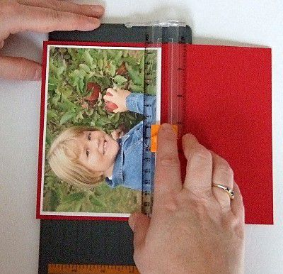 creating a matted border for photo