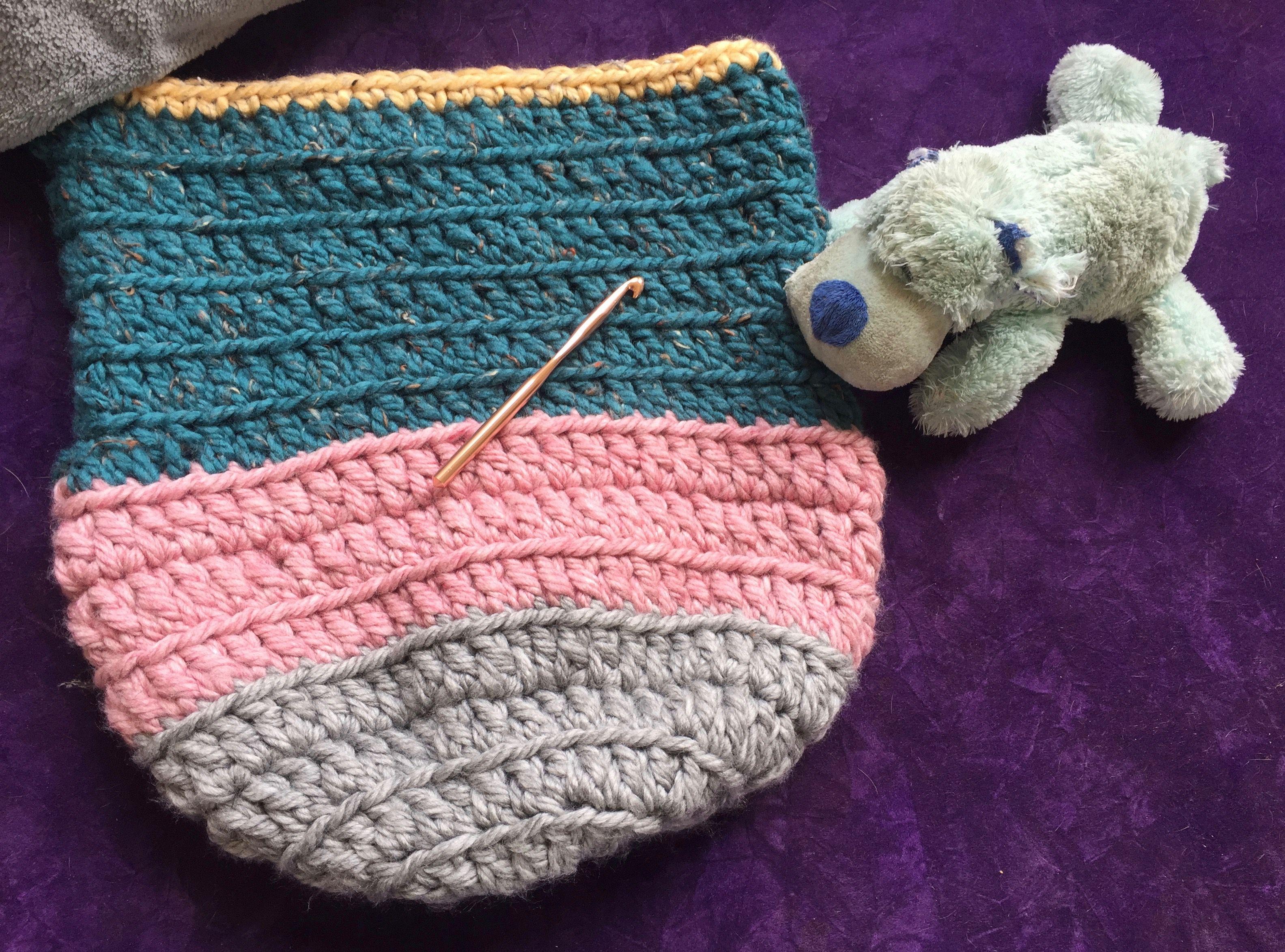 crochet baby cocoon free pattern