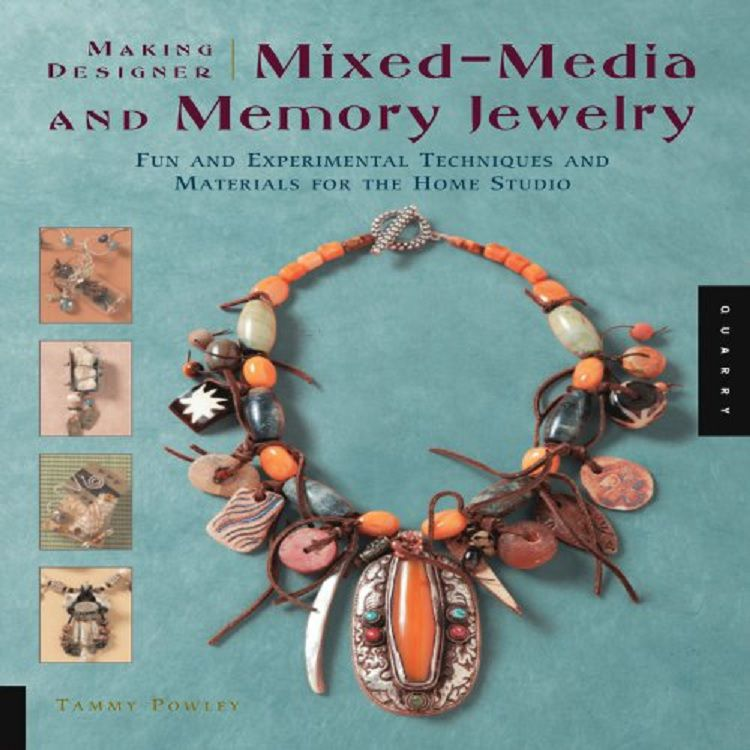 Mixed-media and memory jewlery book