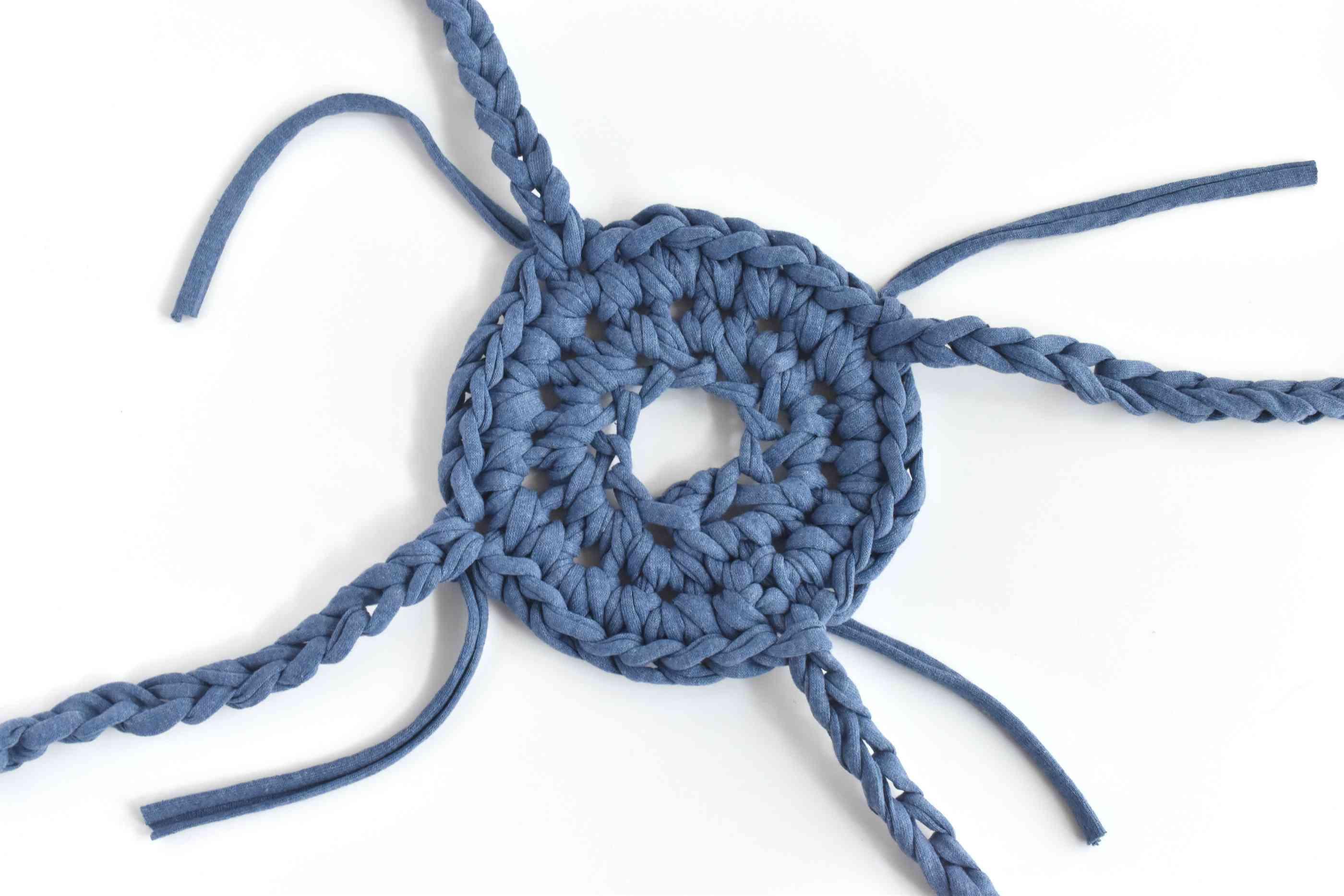 Add Additional Chain Stitch Hangers